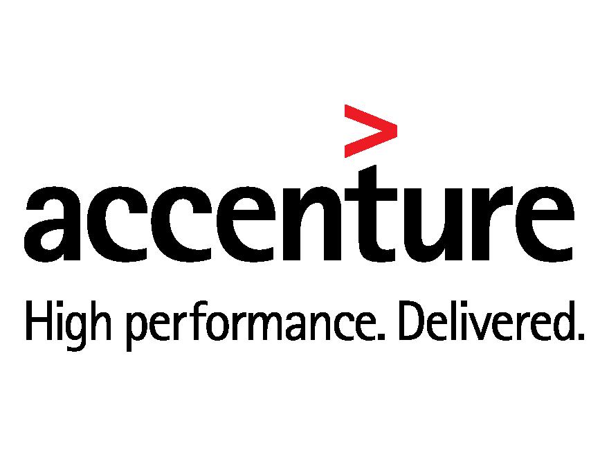 Accenture red arrow logo